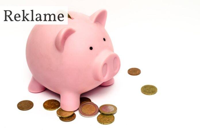 Sparegris med mønter
